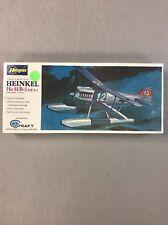 VINTAGE HASEGAWA HEINKEL HE51B-2  AIRPLANE MODEL KIT MINT SEALED IN BOX