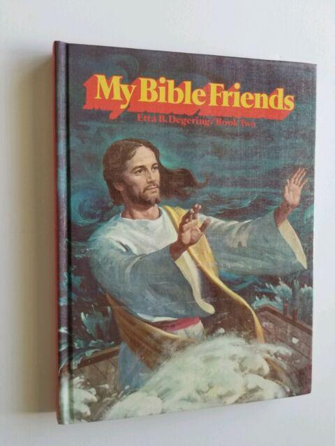 Like New My Bible Friends Etta Degering Kids Bible Stories HC Volume 2