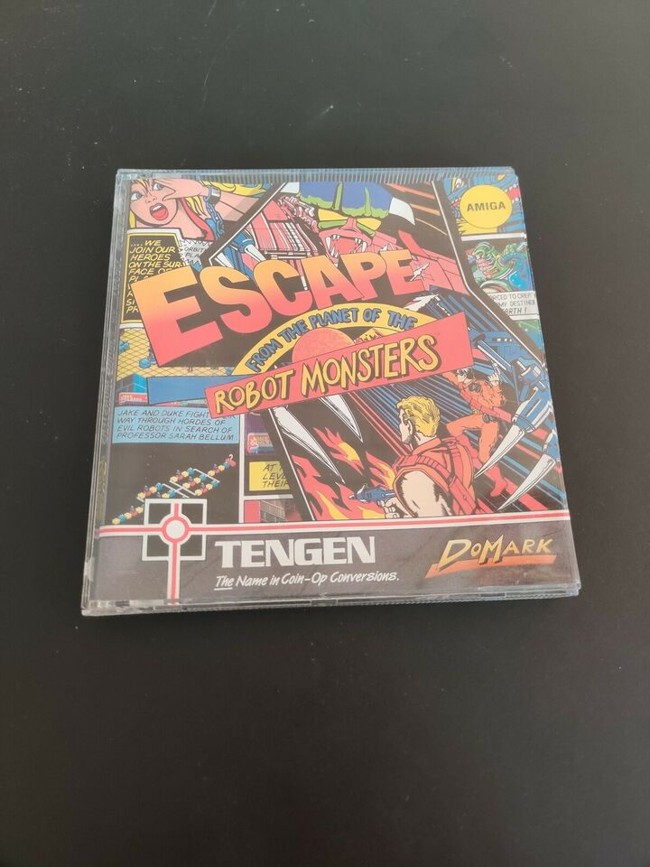 Escape from the planet of the robot monsters, Amiga