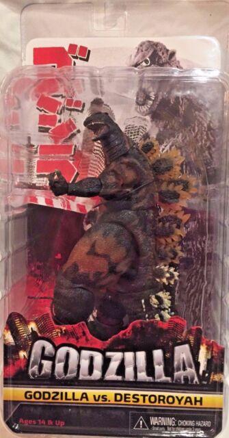 "NECA BURNING GODZILLA Destoroyah 1995 Movie Classic Monster action figure 12"""