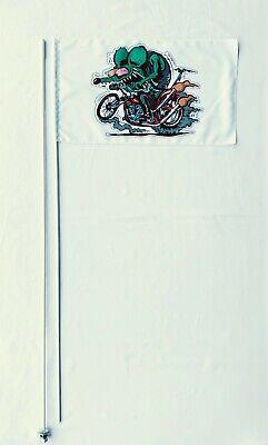 Suzuki Honda Kawasaki Yamaha Polaris KTM  2 Part 7/' ATV Whip Flag