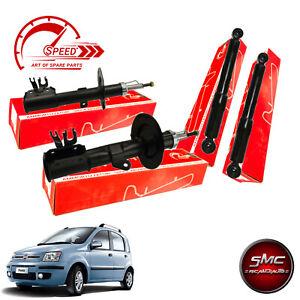 Kit 4 Ammortizzatori Speed Anteriori e Posteriori Fiat Panda 169 II 2003 - 2012