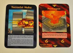 Steve-Jackson-Games-Illuminati-INWO-CCG-Limited-Ed-Terrorist-Nuke-amp-Pentagon-NM