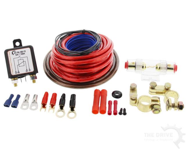 12V Trennrelais Laderelais -Lichtmaschine-Batterie- Standheizung Kühlschrank etc