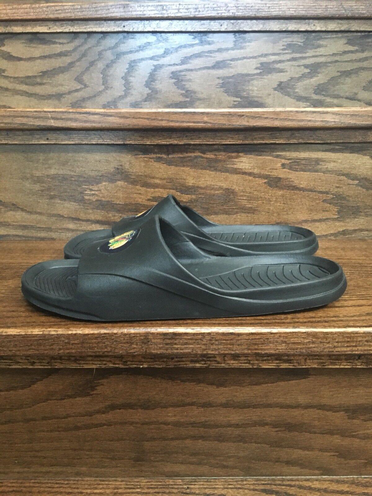 Flip Flops Mens Shoes XL Black Hawks Color Black Size XL Shoes (13-14) 187d9b