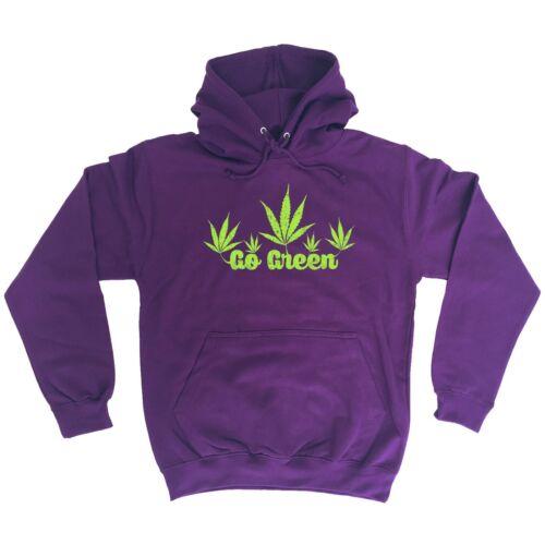 Go Green Funny Weed Dope 420 Snoop Dog HOODIE
