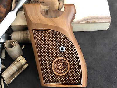 CZ VZOR 70-50 7.65MM 32 ACP Turkish Walnut Wood Grips Handmade US Based Seller