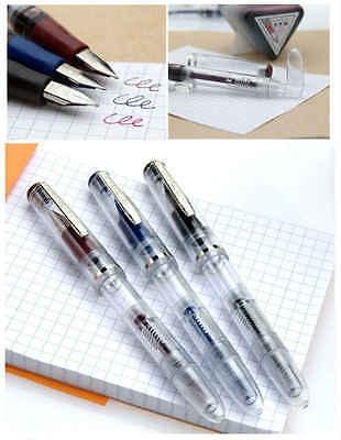 Dollar Transparent Fountain Pen 717i , 1 Piece (Random Colors)