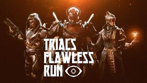 Trials Flawless PLAYED run - 7 wins achieved by playing