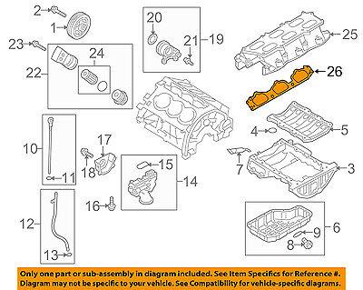 New Oem Intake Manifold Gasket Left Driver For Various Hyundai Kia 284113C612