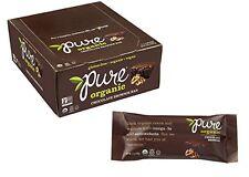 Pure Organic Chocolate Brownie Bar - 1.7 Oz each - 12 Pack - Exp 06/26/2017
