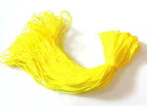 New-2mm-Diameter-300Ft-Parachute-Cord-Paracord-Lanyard-Survival-yellow