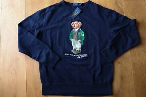 Details Polo Mens JumpersMLXl 100Genuine Ralph Bear About Lauren 8nNwPX0Ok
