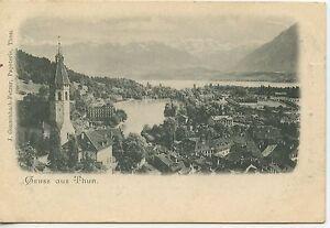 Suisse Liestal Gruss aus dem Kanton Basel c1898 Color