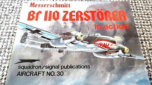 SQUADRON/SIGNAL #30 / MESSERSCHMITT Bf 110 ZERSTORER IN ACTION (1977) #1030