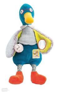 Moulin-Roty-Les-Cousins-du-Moulin-Plush-Activity-Duck-Baby-Soft-Toy