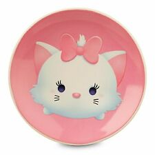 "Disney Tsum Tsum Marie Plate Pink Dish Ceramic, 4.5"" Artwork Kitty Cat New"