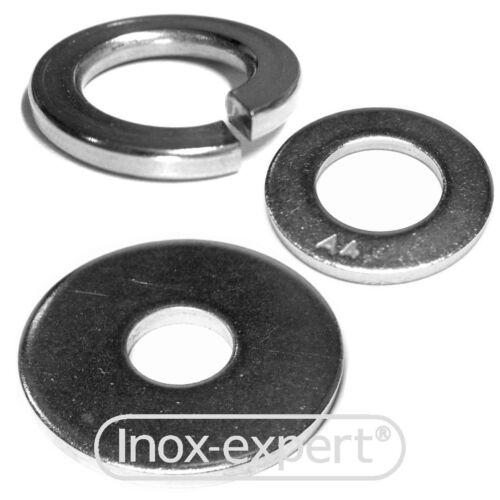 U-disque acier inoxydable a4 Rondelles va federring gargouilles-disque ressort-Anneaux