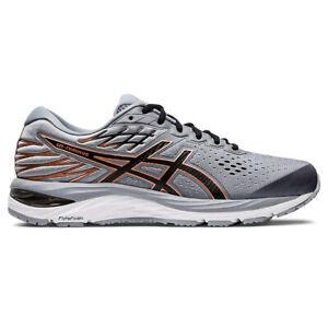 ASICS Men's Gel-Cumulus 21 Sheet Rock/Black Running Shoes 1011A551.022 NEW