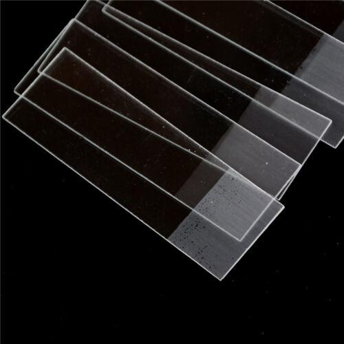 Professional 50PCS Blank Microscope Slides accessories Cover Glass La YH