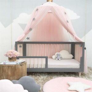 Das Bild Wird Geladen Baldachin Fuer Betten  Kinder Moskito Netz Faden Baumwolle