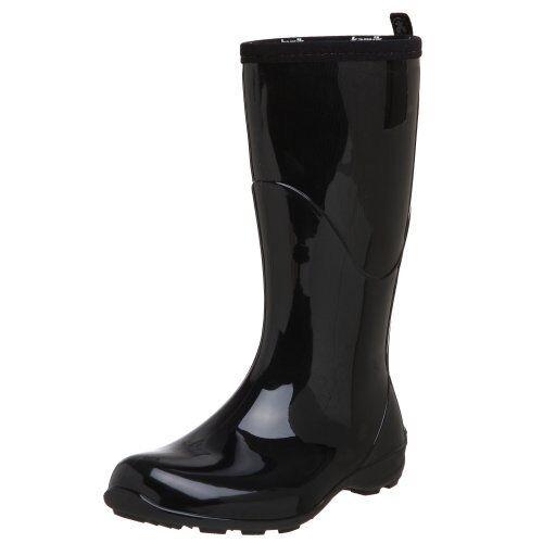 con il prezzo economico per ottenere la migliore marca donna Rain stivali Rubber Rubber Rubber Fashionable Pull On Wellingtons w Comfort EVA Footbeds  vendite online