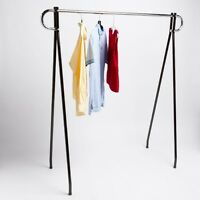 48 Economical Clothing Clothes Garment Retail Display Single Bar Racks
