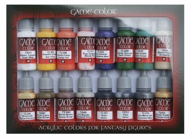 (VAL72299) - AV Vallejo Game Color Set - Introduction Set