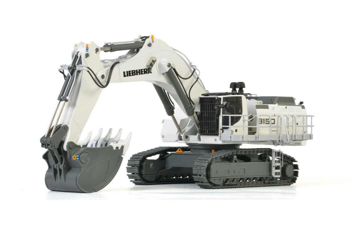 Liebherr R9150 Mining Pelle Blanc Wsi 1 50 échelle moulé  sous pression Modèle  04-2023 NOUVEAU  marques de mode