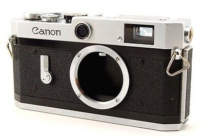 Near Mint Canon P 35mm Rangefinder Film Camera From Japan 141