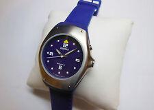 Rare Seiko Kinetic Sample Watch Mens SKH499 5M42-0H09 Blue Silicon Non-Working