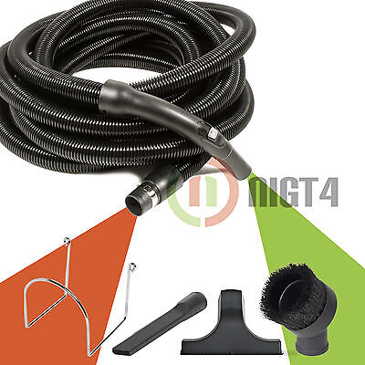 OVO Grey Crushproof Tube-Fits All Inlets-Black /& Grey Universal Central Vacuum Hose Low Voltage 30ft Long with Switch Control 50ft Black 30 ft