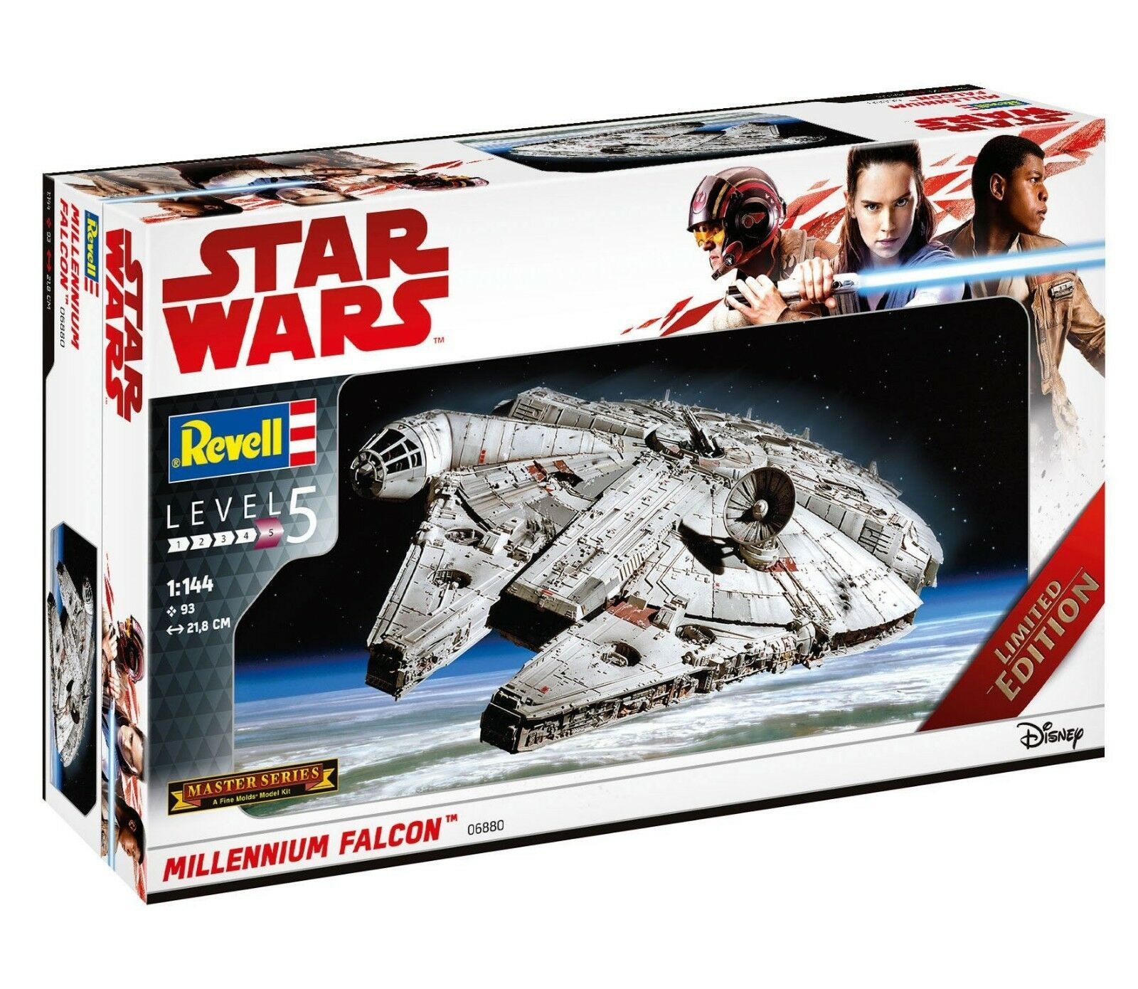 Revell Level 5 Model Kit 1 144 Star Wars Millennium Falcon Limited Edition 06880