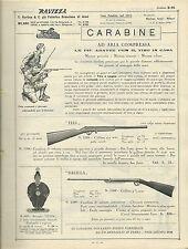 Ravizza - Carabine ad aria compressa - Catalogo 1932 tiro caccia sport Diana