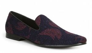 7921610acbc3 Giorgio Brutini Men s Craft Blue Stylish Sparkly Loafers 179313-0