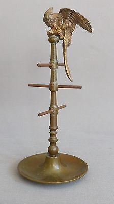 Baguier Au Perroquet, Bronze Patiné, Napoléon III