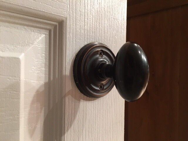 Constructor LEX Elite Door Lock Handle Set Oil Rubbed Bronze Finish