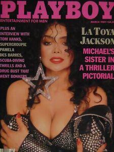 Playboy-March-1989-La-Toya-Jackson-Laurie-Wood-988