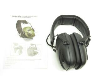 Awesafe Electronic Shooting Earmuff Shooting Ear Protection Noise Reduction