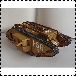 1-25-Scale-UKWWI-Mark-Mk-IV-Male-Tank-DIY-Handcraft-PAPER-MODEL-KIT