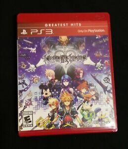 Kingdom Hearts HD 2.5 II.5 ReMIX (Sony PlayStation 3 PS3 Greatest Hits, 2014)