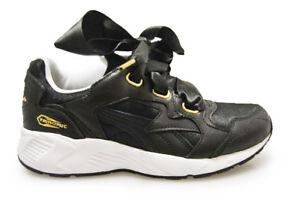 7fa642e6a7f Womens Puma Prevail Heart Bow - 36564901 - Black White Trainers | eBay