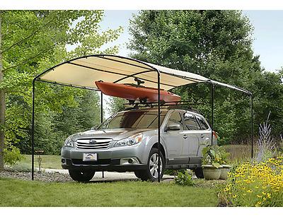 Car Sun Shade Canopy Tent Frame Kit Portable Garage ...