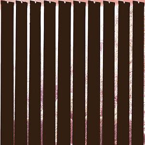 Replacement Vertical Blind Slats Brown 89mm 3 5 Quot Slats W