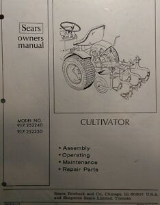 image is loading sears lawn garden tractor cultivator amp 3 point - Sears Lawn And Garden
