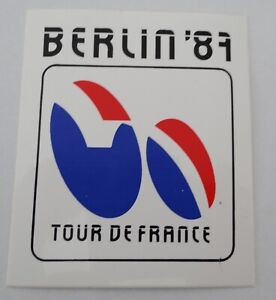 Fan-Aufkleber Le Tour de France 1987 Start IN West Berlin Cycling