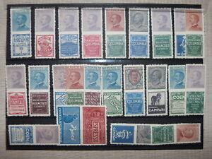 1924-regno-francobolli-pubblicitari-23-valori-nuovi-s-gomma-leggi-descrizione