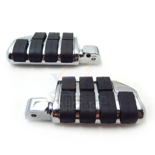 Dually Footpegs For Yamaha V-Star 1100 Custom Midnight XVS1100 2006–2008