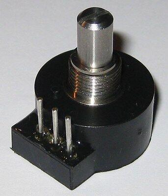 """Dual 100 kOhm Bourns Model 91 5//8/"""" Square Single Turn Panel Potentiometer"""