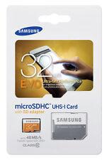 Samsung EVO 32GB, Class 10 20MB/s - MicroSDHC Card  MB-MP32DA/AM